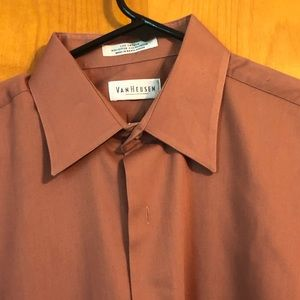 Van Heusen Lux Sateen Button Down
